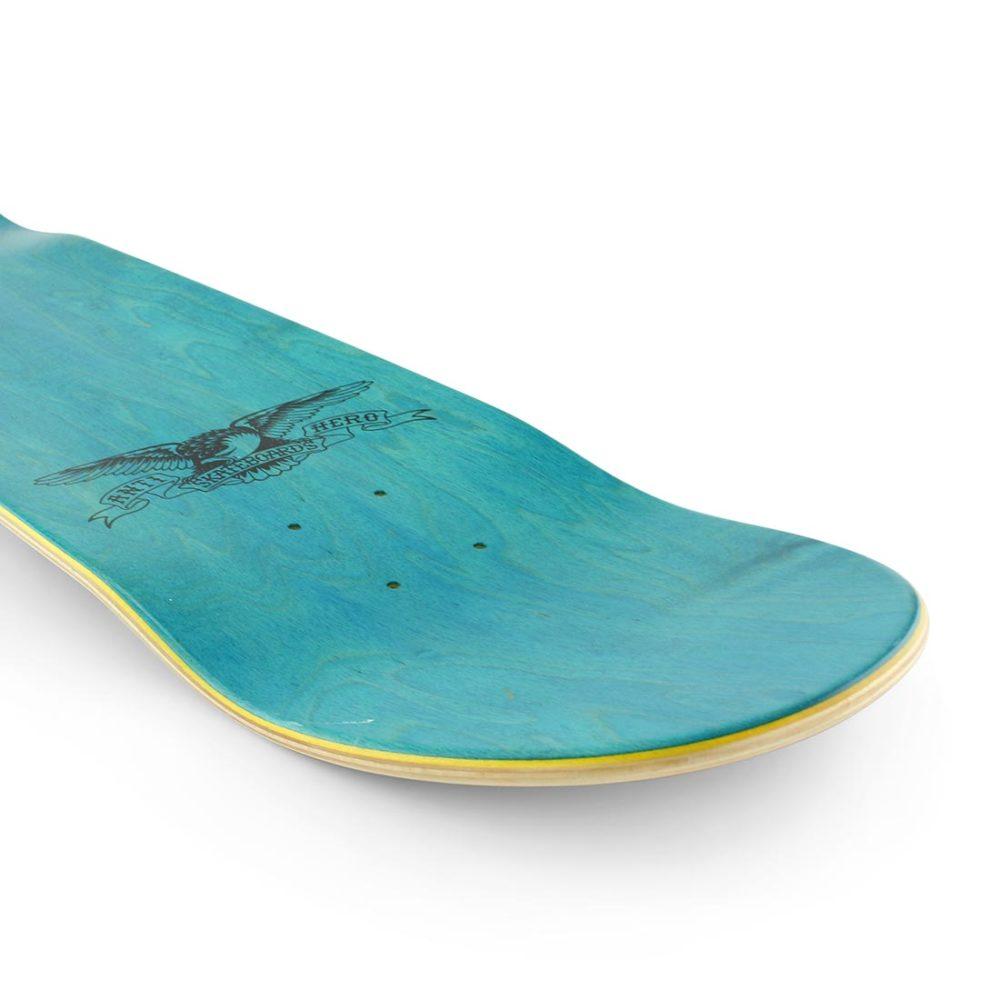 Anti Hero Classic Hero Skateboard Deck Brown