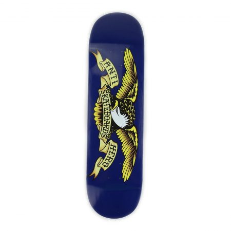 "Anti Hero Skateboards Classic Eagle Deck 8.5"" - Blue"