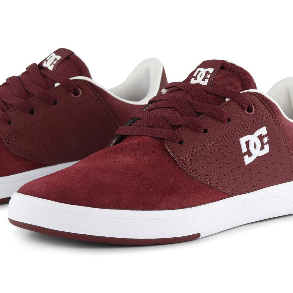 DC Plaza Shoes Maroon