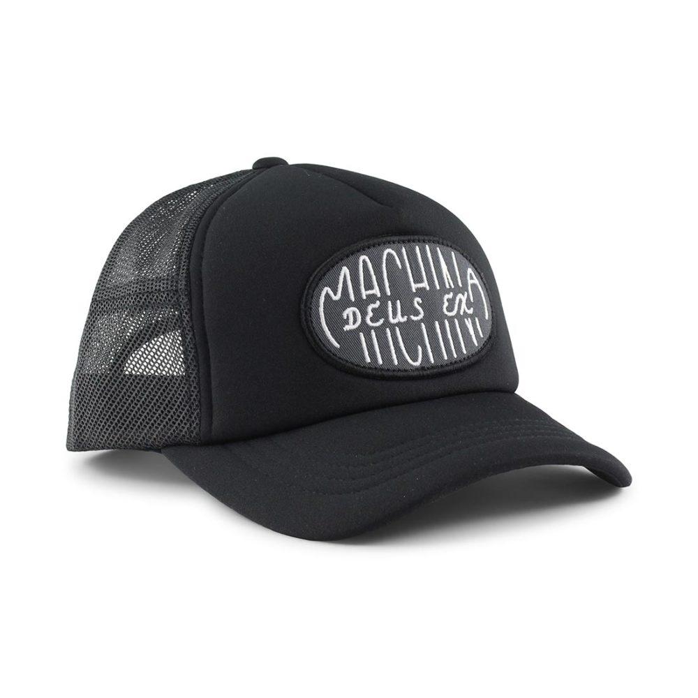 Deus Ex Machina Capsule Trucker Cap Black