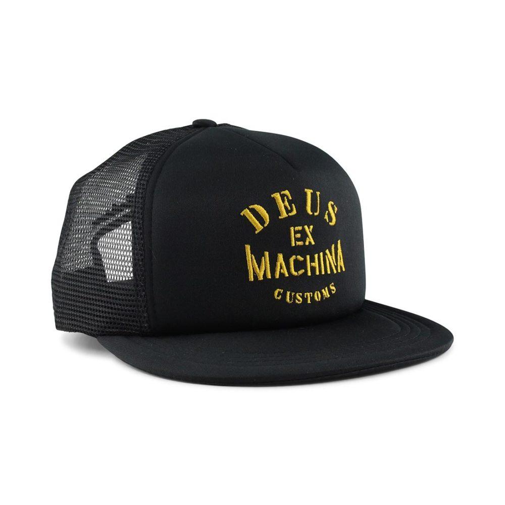 Deus Ex Machine Crew Trucker Hat Black