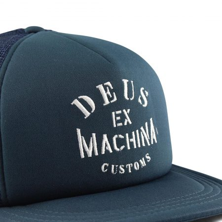 Deus Ex Machina Crew Trucker Hat Blue