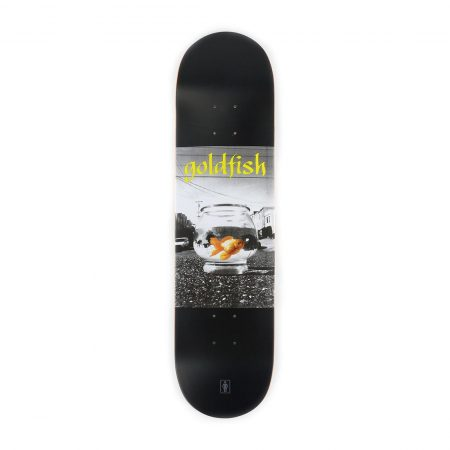 Girl Skateboards Gold Fish Deck Black