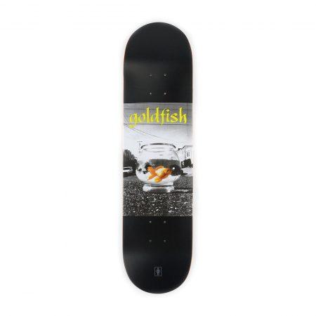 Girl Skateboards Gold Fish Deck Black
