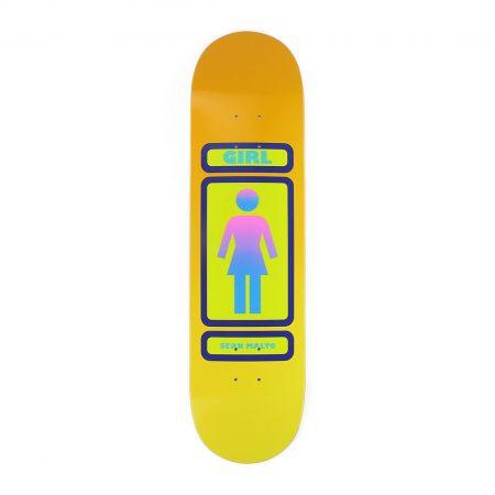 "Girl Skateboards Sean Malto 93 Til W35 - 8.125"" Deck"