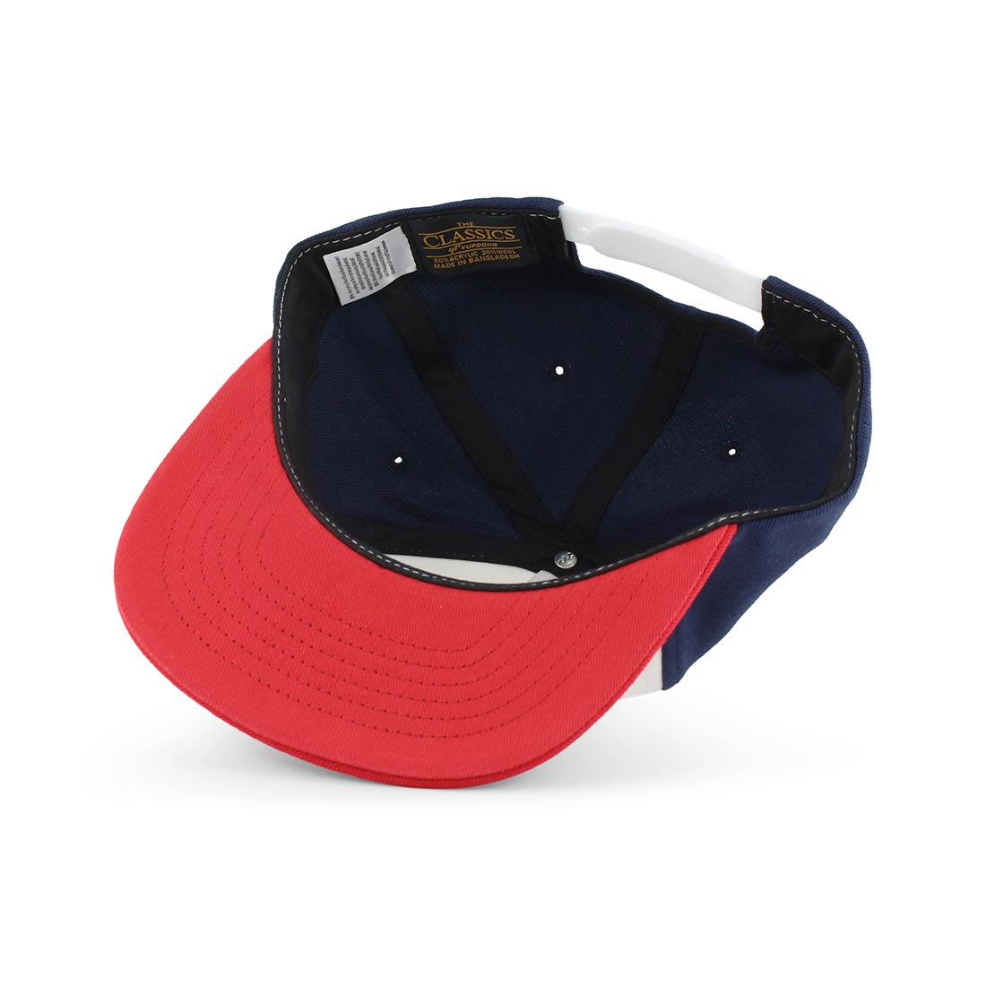 Independent Combi Snap Back Cap Red Navy