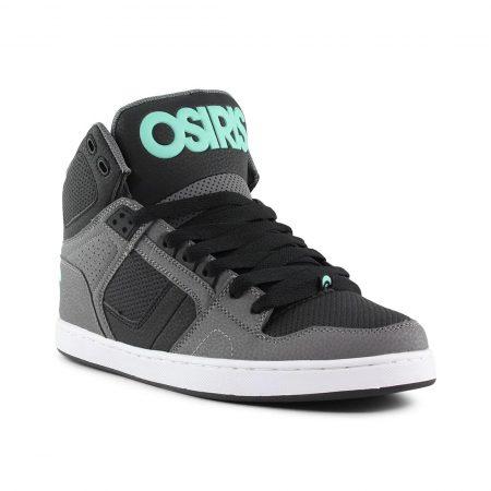 Osiris NYC 83 CLK High Top Shoes - Grey / Black / Opal