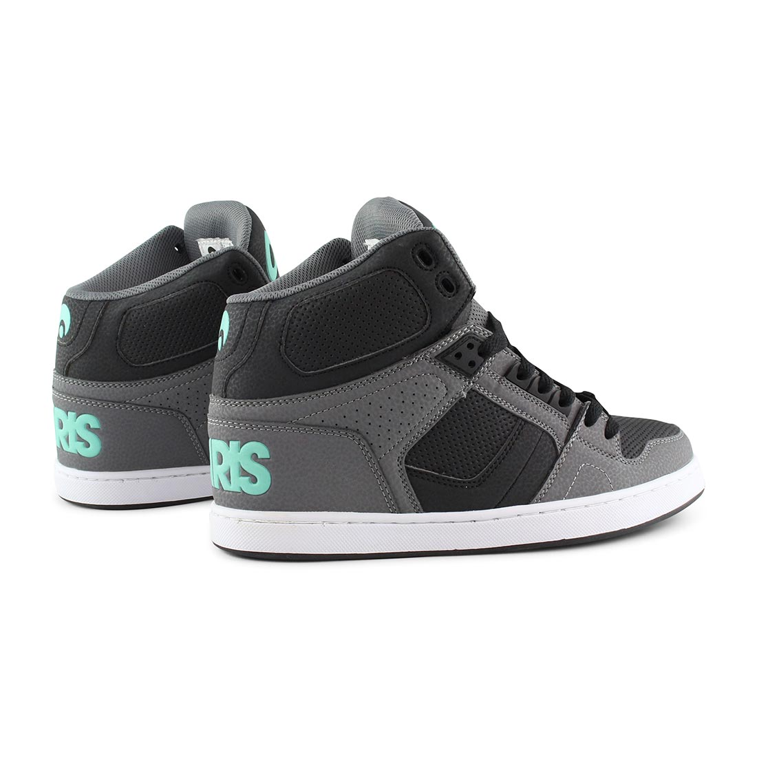 Osiris NYC 83 CLK High Top Shoes - Grey / Black / Opal