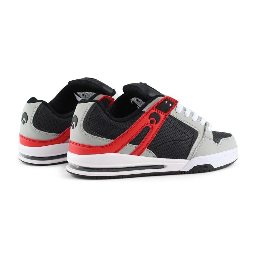 Osiris PXL Shoes Lt Grey / Black / Red