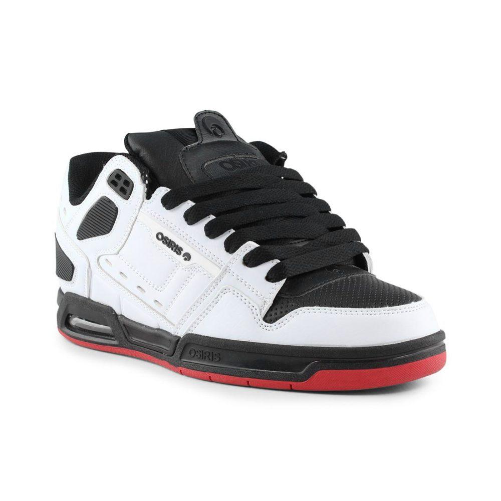 Osiris Peril Shoes White Black Red