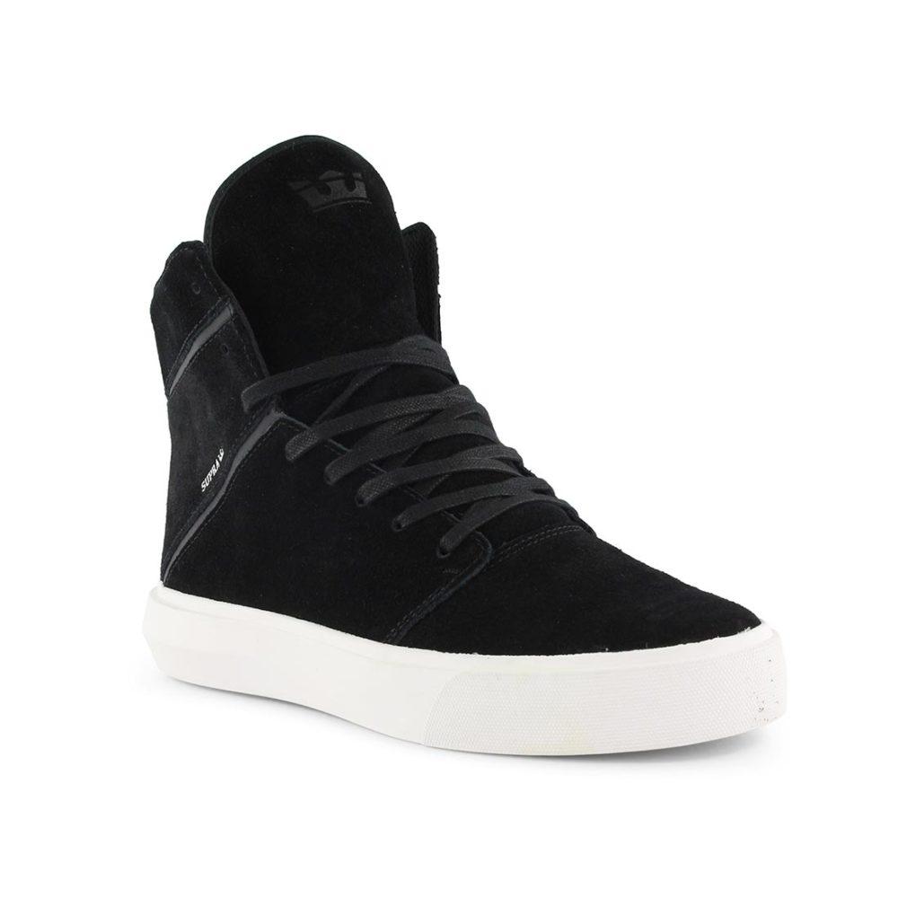 Supra Camino High Top Shoes - Black / White