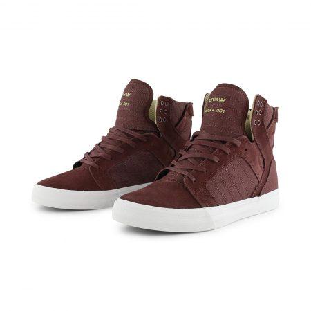 Supra Skytop Shoes Mahogany