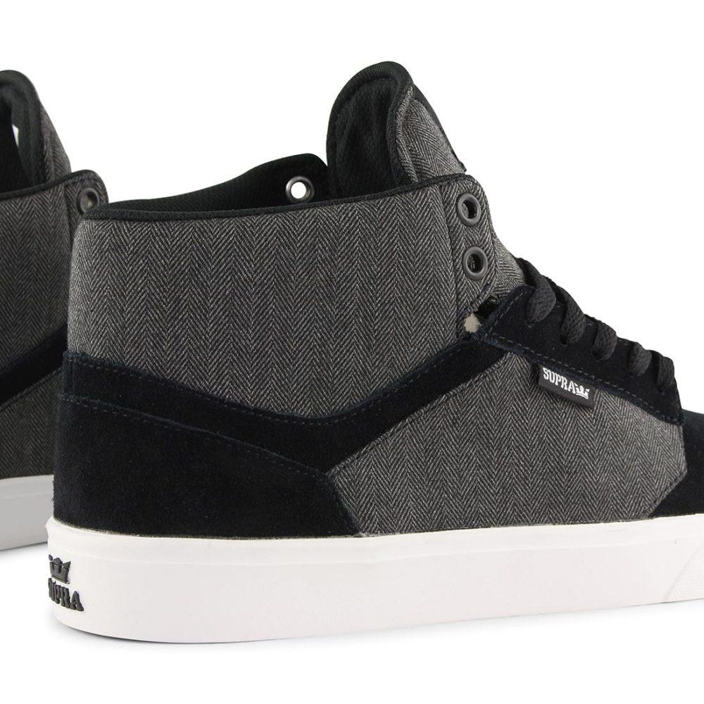 Supra Yorek High Shoes - Black / White