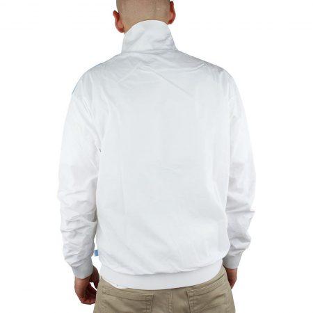 Adidas x Krooked Track Jacket - White / Clear Blue