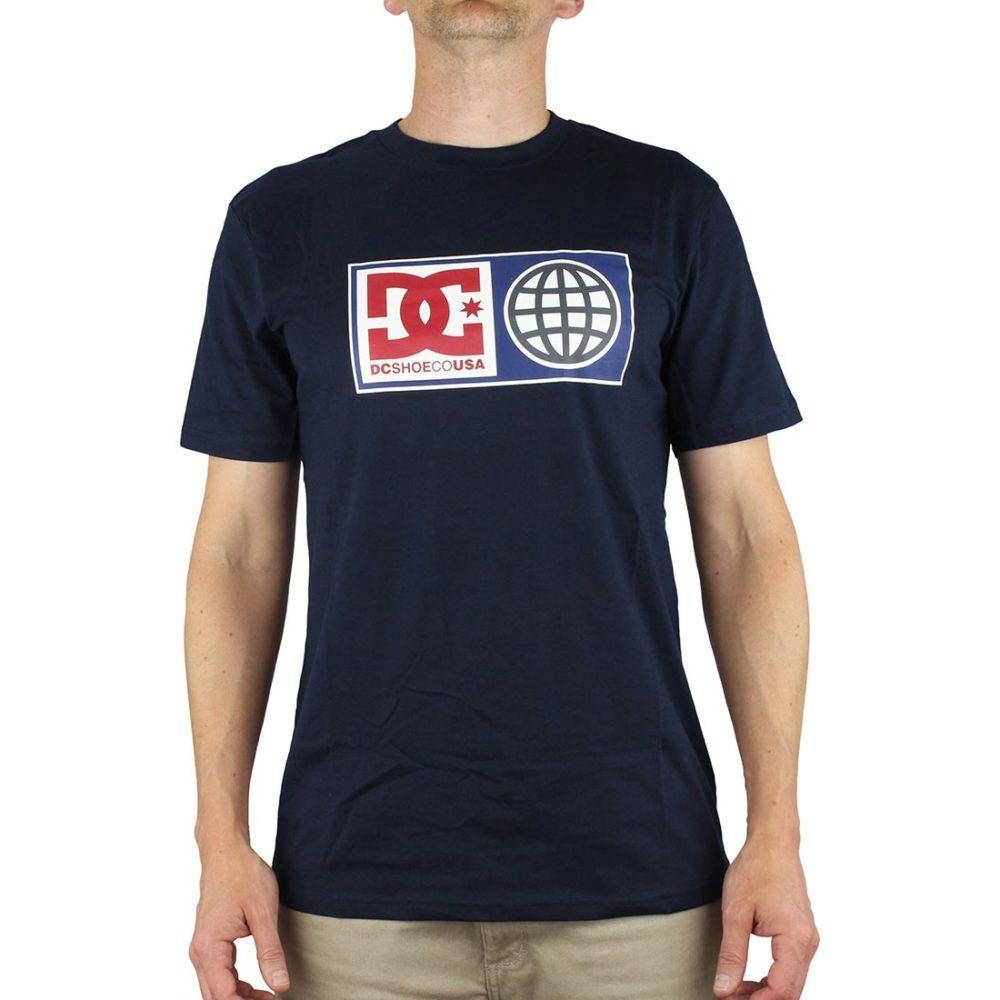 DC Global Salute T-Shirt Indigo