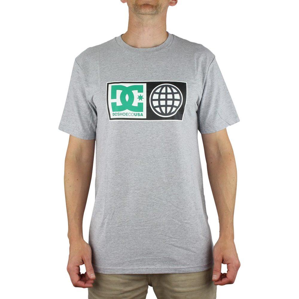 DC Global Salute T-Shirt Grey Heather