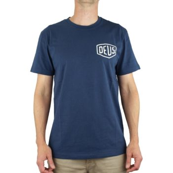 Deus Ex Machina Tokyo Address (Shield) T-Shirt - Navy