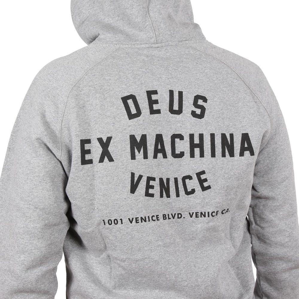 Deus Ex Machina Venice Address Pullover Hoodie - Grey Marle