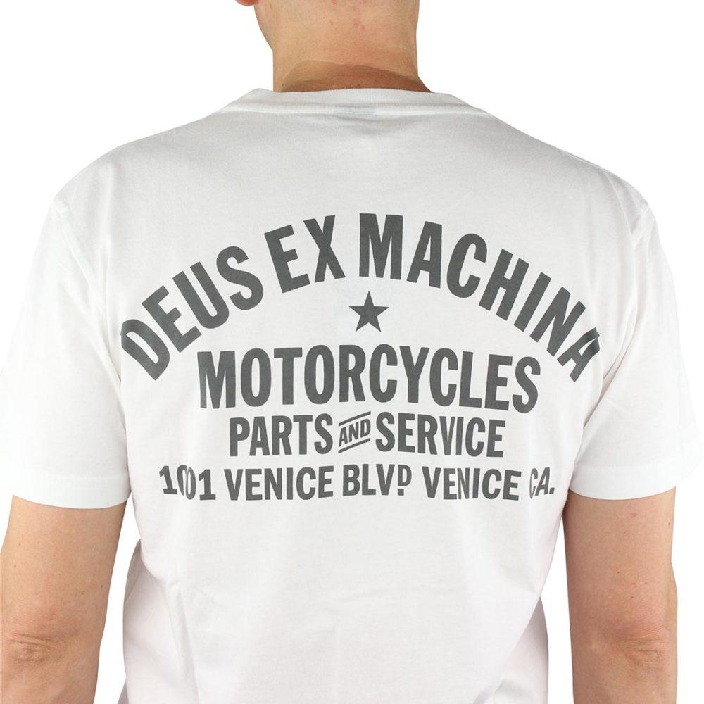 Deus Venice Address T-Shirt White