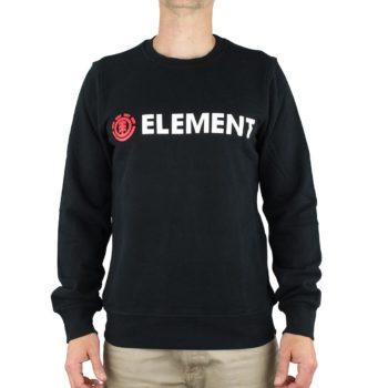 Element Blazin Crew Sweater - Flint Black
