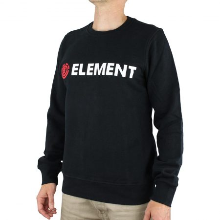 Element Blazin Crew Sweater - Flint Black