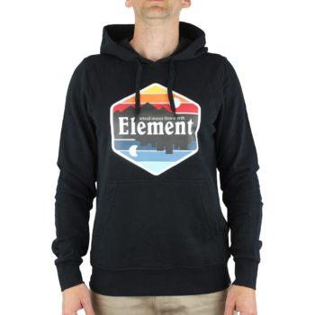 Element Dusk Pullover Hoodie - Flint Black
