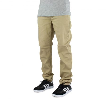 Element E02 Slim Straight Jeans - Desert Khaki
