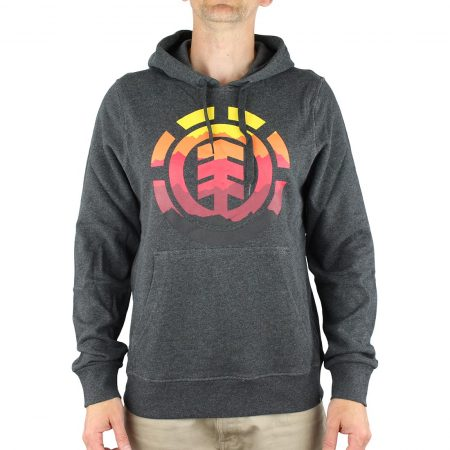Element Logo Fill Pullover Hoodie - Charcoal Heather
