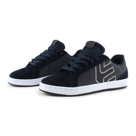 Etnies Fader LS Shoes - Navy / White