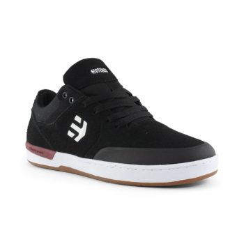 Etnies Marana XT Shoes Black White Burgundy