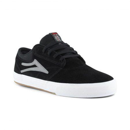 Lakai Griffin VLK Shoes - Black / Grey Suede