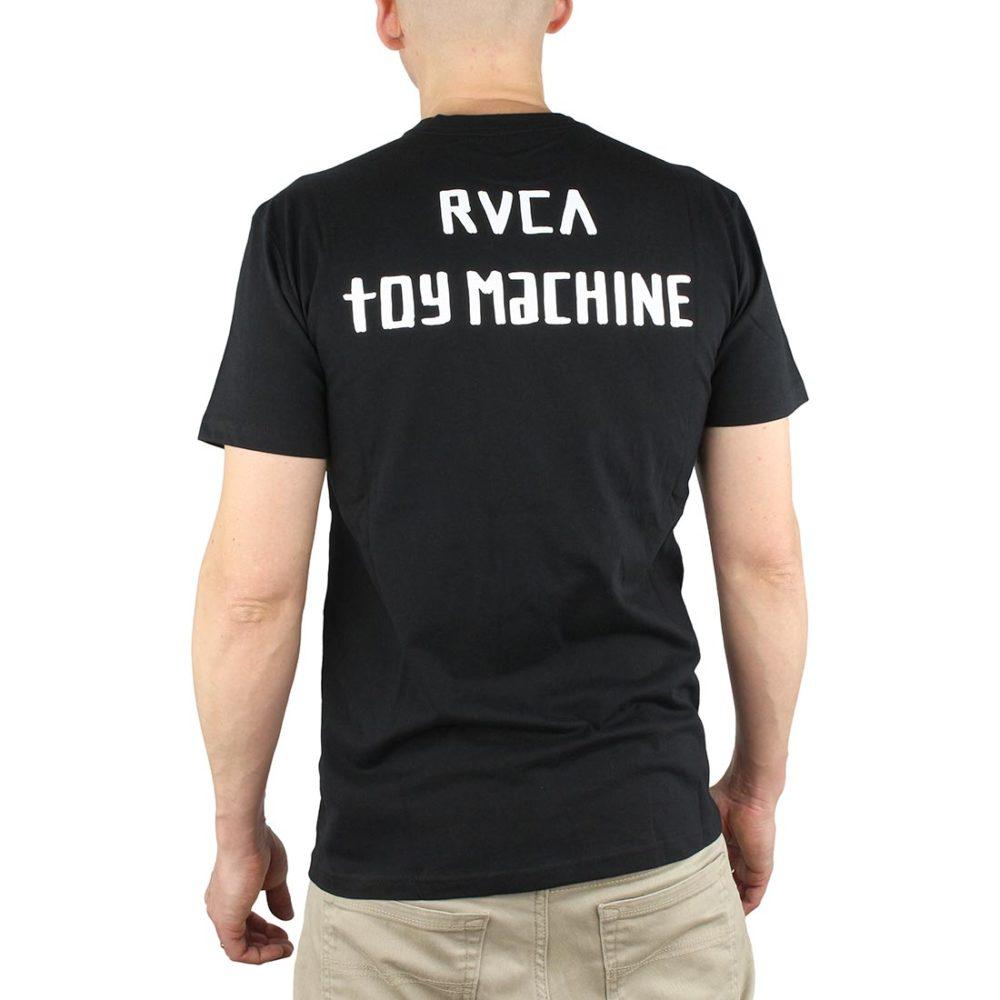 RVCA x Small Toy Machine S/S T-Shirt - Black