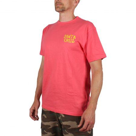 Santa Cruz Extinct Hand T-Shirt Flamingo