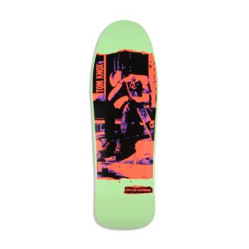 Santa Cruz Skateboards Knox Punk Reissue Deck - Mint Dip