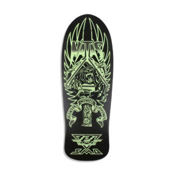 Santa Cruz Skateboards SMA Natas Panther 3 Glow Reissue Deck - Black
