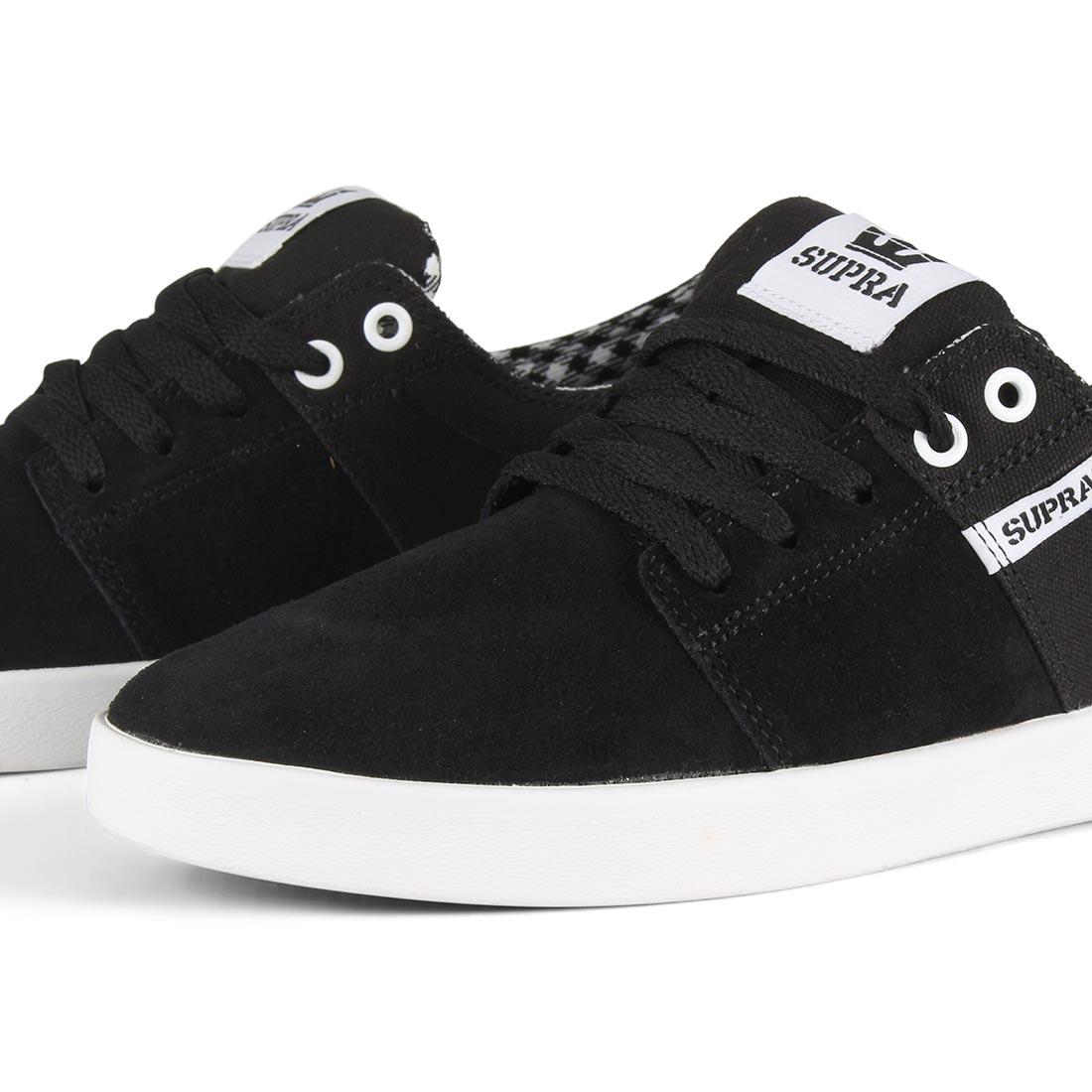 34b9bea356 Supra Stacks II Shoes - Black / White / White