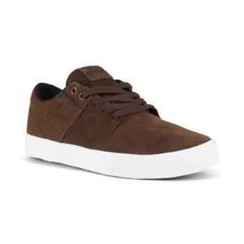 Supra Stacks Vulc II Shoes - Demitasse / White