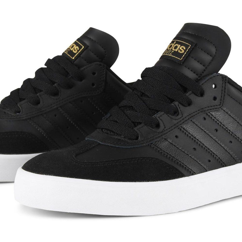 adidas busenitz vulc rx shoes - core black / core black