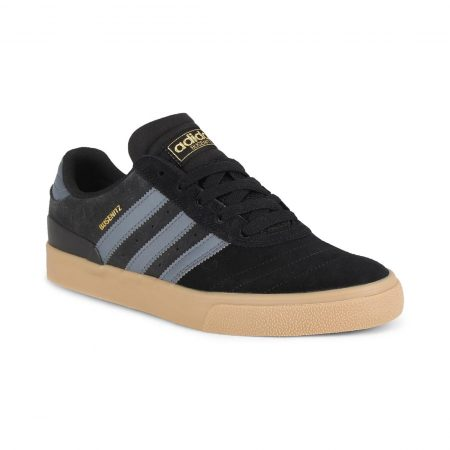 Adidas Busenitz Vulc Shoes - Core Black / Onix / Gum