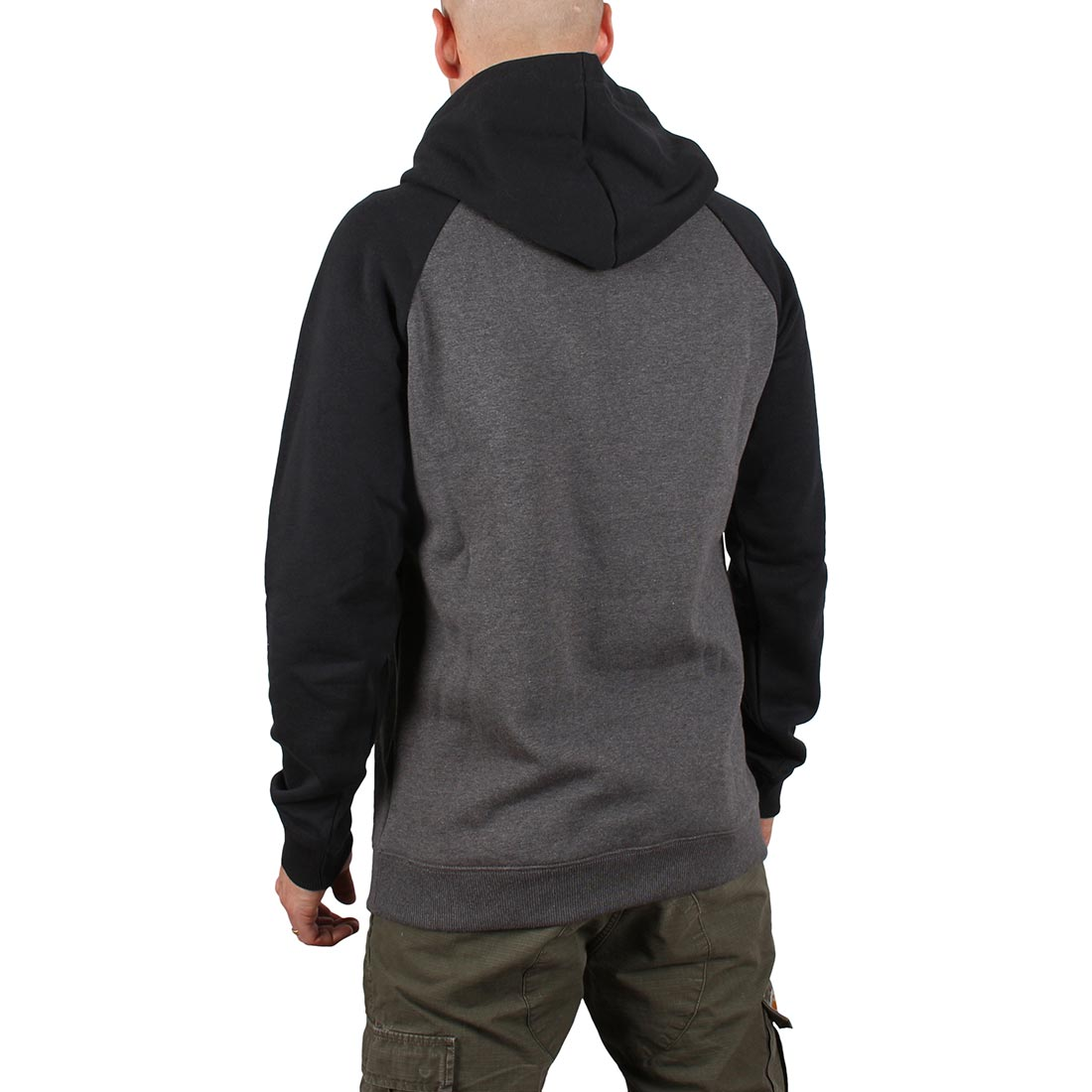 DC Shoes Circle Star Pullover Hoodie - Black / Charcoal