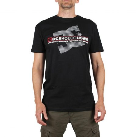 DC Shoes Destroy Advert S/S T-Shirt - Black