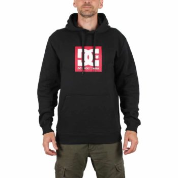 DC Shoes Square Star Pullover Hoodie - Black