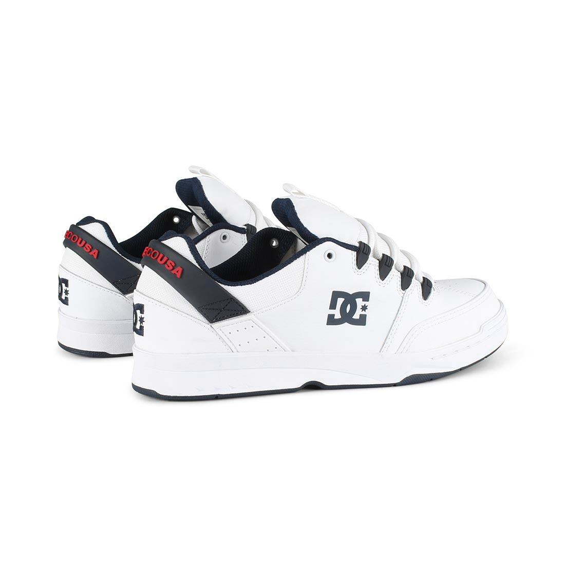 DC Shoes Syntax - White / Navy