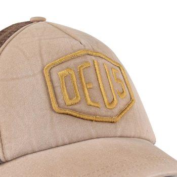 Deus Ex Machina Shield Mesh Back Trucker Cap - Safari