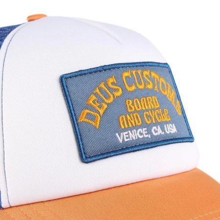Deus Ex Machina Soup Mesh Back Trucker Cap - Orange