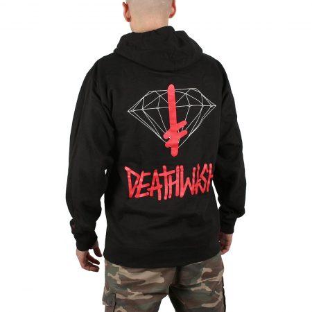 Diamond x Deathwish Sign Pullover Hoodie - Black