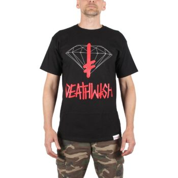 Diamond x Deathwish Sign S/S T-Shirt - Black