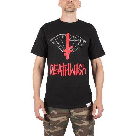Diamond x Deathwish Sign S/S T-Shirt - Black