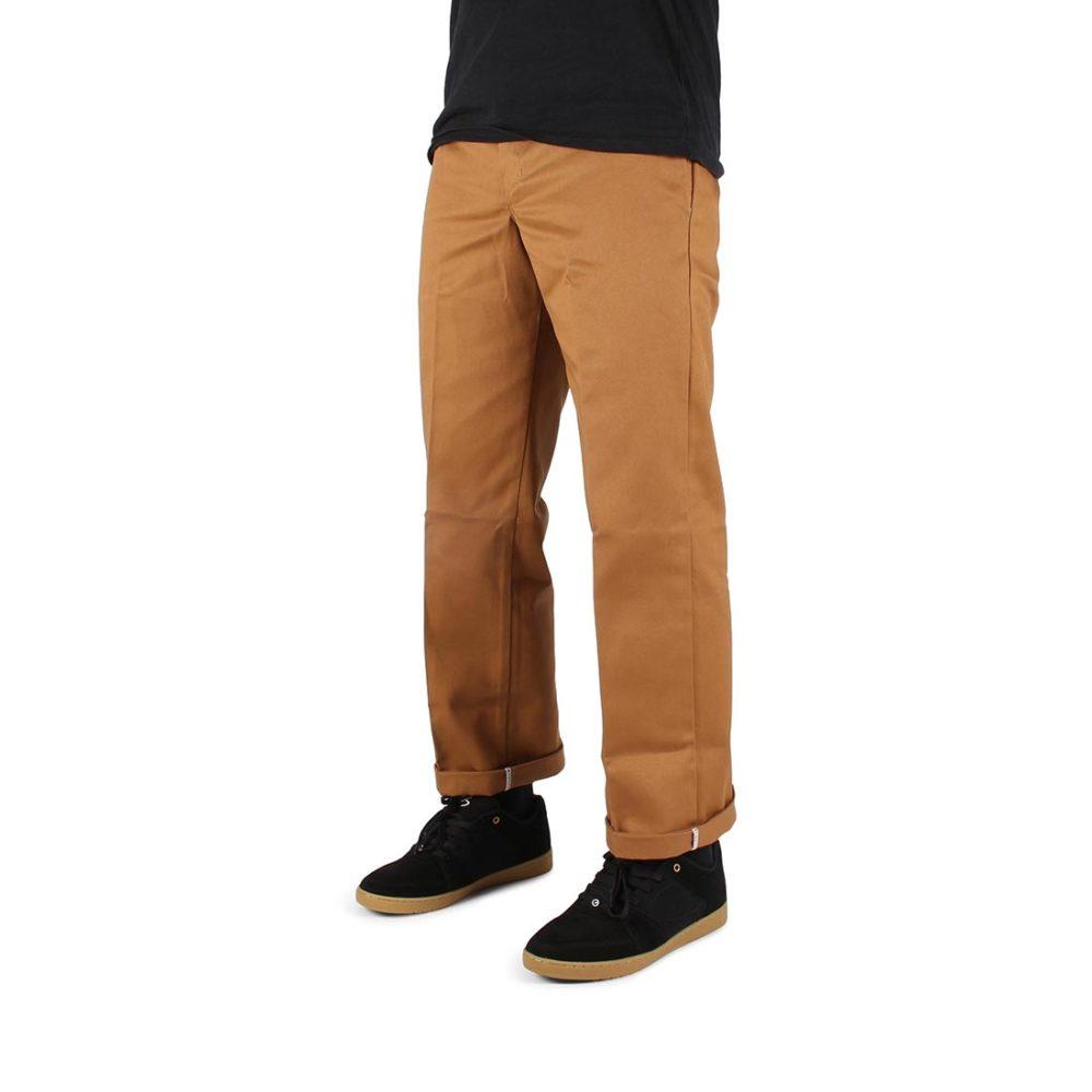 Dickies 873 Slim Straight Work Pant - Brown Duck