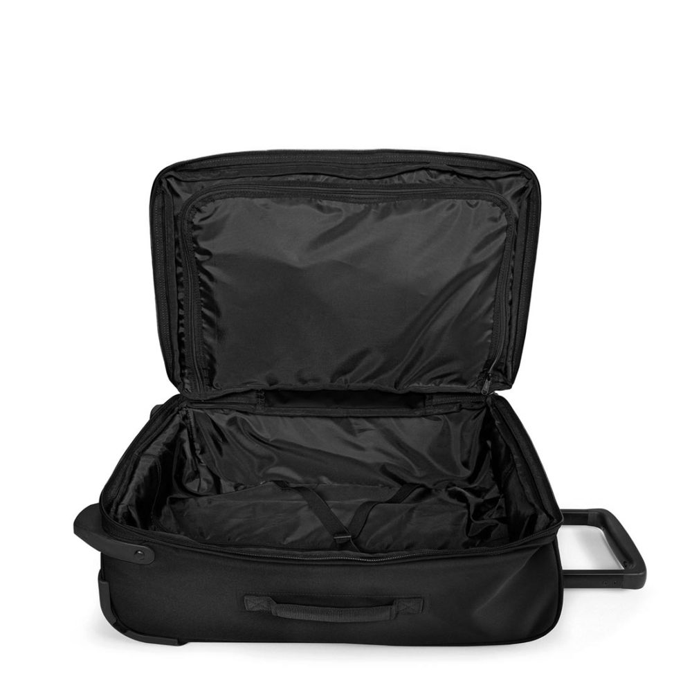 Eastpak-Trafik-Light-S-33L-Carry-On-Suitcase-Black-01